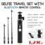 Selfie Travel Set with Bluetooth Remote Control(ไม้เซลฟี่พร้อมรีโมท)สำหรับ Yi Cam thumbnail 1