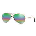 RayBan RB3025 9018C3 AVIATOR MINERAL