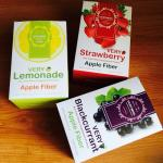 Very Dtox Kee-Take Apple Fiber 3 Boxes (Blackcurrant, Strawberry, Lemonade)