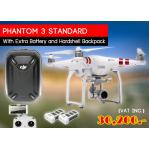 Phantom 3 Standard Extra Battery and Hardshell Backpack