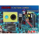 Yi Camera + Monopod Waterproof