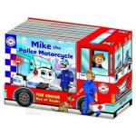 Emergency Vehicles Truck Set (8 Board Books)