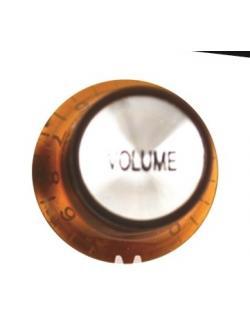 วอลุ่มกีต้าร์ไฟฟ้า สีส้มหน้าเงิน Vol LP-03V