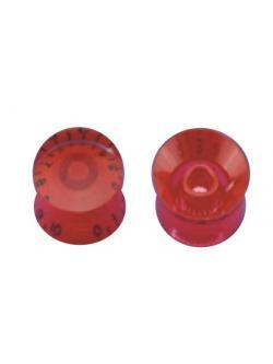 วอลุ่มกีต้าร์ไฟฟ้า สีแดงตัวหนังสือดำ LP Speed Knob Style LPS-10