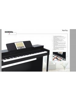 เปียโน Pastel รุ่น IDK-100A สามารถเชื่อมต่อ Ipad ได้ มาพร้อมกับ Musical Lesson หลายพันบทเรียน สำหรับเรียนรู้การเล่นเปียโน ให้ท่าน download