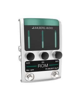 AALBERG AUDIO Effect ROM RO-1 REVERB PEDAL