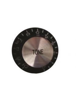 วอลุ่มกีต้าร์ไฟฟ้า สีดำหน้าเงิน Tone LP