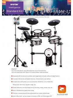 กลองไฟฟ้า Avatar Standard Kit SD102-2