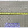 เสื่อรองจาน พลาสติกสาน -ตารางเล็กสีทอง Code: 005-TW-PPM-116