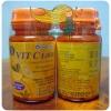 Vit C 1000 mg. (30 เม็ด) ราคาปลีก 130 บาท