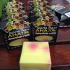 สบู่กลูต้าพลัส ผสมฟรุ๊ตตามิน GLUTA Plus++ AHA 70%