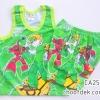 ไซด์ 6-9 เดือน ชุดเสื้อกล้ามกางเกงเบนเทน สีเขียว