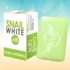 SNAIL WHITE X10 ACNE & WHITENING สบู่ สเนลไวท์ x10 ลดสิว ผิวขาวใส สีเขียว