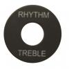 ฝาคอบสวิชสามทาง LP Rhythm/Treble สีดำ