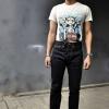 กางเกงยีนส์ จัสติน รุ่น Dark Indigo 20 oz (ดาร์ค อินดิโก้)