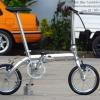 """จักรยานพับล้อ 14"""" Banian Smart สีโครเมียม(สีพิเศษ)"""