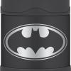 Thermos Funtainer Food Jar, 10-Ounce, Batman แก้วอาหารเก็บอุณหภูมิสุญญากาศ แบทแมน ขนาด 10 ออนซ์
