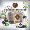 Detox & Anti Acne by Amiskincare สบู่ ดำดีท็อกซ์ แอนตี้ แอคเน่