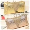 กระเป๋าออกงาน BM008: กระเป๋าคลัชสวย หรู สีทอง สีทองแดง เรียบเก๋ๆ ราคาถูก ใส่คู่กับชุดเดรสออกงานน่ารักมากค่ะ