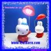 โคมไฟรูปกระต่ายสีแดง ( Cartoon Table Lamp) โคมไฟตั้งโต๊ะ รูปกระต่าย แบบชาร์ตไฟได้