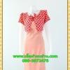 1979ชุดทํางาน เสื้อผ้าคนอ้วนคอกลมสีลาเวนเดอร์แต่งกั๊กลายรุ้งสไตล์เกาหลีสวมใส่ทำงานน่ารักสะดุดตา