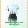 2409ชุดแซกทำงาน เสื้อผ้าคนอ้วนสีดำลายสไตล์เรียบง่ายไม่หวือหวาแต่ดูดีมั่นใจใส่ทำงานแบบคอวี