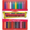 Melissa & Doug Triangular Crayon Set, 24-Piece