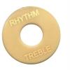 ฝาคอบสวิชสามทาง LP Rhythm/Treble สีครีม