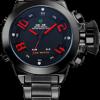 นาฬิกาข้อมือ WEIDE รุ่น LED SPORT LUX (แดง)