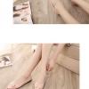 รองเท้าคัทชูส้นเตี้ยสีชมพู หัวแหลม ประดับหัวเข็มขัดRhinestone วัสดุPU แฟชั่นเกาหลี