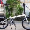 """จักรยานพับล้อ 20"""" Banian Wind Speed จักรยานพับเฟรม cromoly 18 speed"""