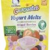 โยเกิร์ตเมลท์ รสมิกเบอรี่ Gerber Graduates Yogurt Melts, Mixed Berry