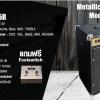 แอมป์กีต้าร์ Metalic 65 วัต + Footswitch