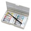 ชุดสีน้ำหลอดWinsor Professional 5ml 10สีพร้อมพู่กัน (Winsor & Newton Professional Watercolour Tube Field Box)