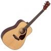 Yamaha F600DW กีต้าร์โปร่ง Acoustic Guitar (สีธรรมชาติ)