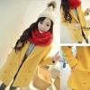 (สินค้าพร้อมส่งค่ะ) เสื้อแฟชั่น coat เกาหลี ตัวยาว คอปก แขนยาว ผ้า Woolen เนื้อดีซับในเป็นขนด้านในนิ่มมากใส่แล้วอุ่นมากค่ะ – สีเหลือง (Size: L)