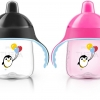 Philips AVENT My Penguin Sippy Cup, Pink, 9 Ounce (Pack of 2)