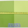 เสื่อรองจาน พลาสติกสาน -ตารางใหญ่สีเขียว Code: 005-TW-PPM-118