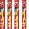 แปรงสีฟันอันปังแมน สำหรับน้อง 1.5 - 5 ปี สีเหลือง