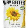 Way Better Snacks Tortilla Chips, Simply Sunny Multigrain, 5.5 Ounce