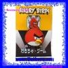 ที่เก็บสายหูฟัง แบบมีตัวหนีบเสื้อผ้าได้ ลวดลาย Angry Birds