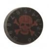 วอลุ่มกีต้าร์ไฟฟ้า สีดำแดงรูปกระโหลก LP Speed Knob LPS-09 Style