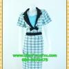 2530ชุดทํางาน เสื้อผ้าคนอ้วนผ้าลายไทยตารางโดดเด่น คล้ายสวมเสื้อนอกคลุมไม่ต้องสวมเกาะอกด้านใน เข้ารูปร่างเอวมีสัดส่วนทรวดทรงโฉบเฉี่ยวมั่นใจแบบสไตล์สาวทำงานกระโปรงทรงสอบมีซับใน