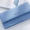 กระเป๋าสตางค์ผู้หญิง ทรงยาว รุ่น Weichen Forever Young Half Blue ส่งพร้อมกล่อง