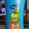 Suave Kids Apple 3 in 1 Shampoo Conditioner and Body Wash, 28 fl oz