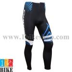 กางเกงปั่นจักรยานขายาว Orbea 2014 สีดำน้ำเงิน