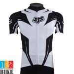 เสื้อปั้นจักรยาน Fox 2015 สีขาวดำ
