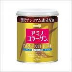 Meiji Amino Collagen Premium (ชนิดกระป๋อง) เมจิ คอลลาเจน รุ่นพรีเมียม ส่วนผสมเข้มข้น เห็นผลดียิ่งขึ้นกว่าเดิม เนียนเด้ง สดใส ต่อต้านริ้วรอย กระชากวัย
