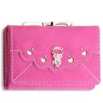 กระเป๋าสตางค์ผู้หญิง Lovery - Hot Pink