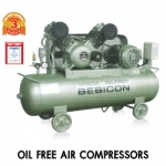 HITACHI OIL FREE BEBICON Model : 0.75OP-9.5G5A